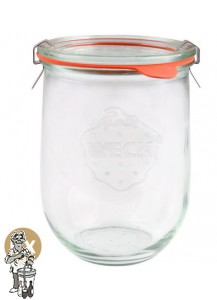 Weckglas tulp 1 ltr. per doos van 6 stuks 745