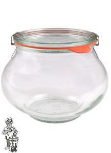 Weckglas sier 1 ltr. per stuk 748
