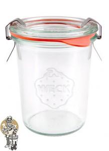 Weckglas mini stort 160 ml. per doos van 12 stuks 760