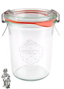 Weckglas mini stort 160 ml. per stuk 760