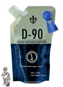 Candi Syrup D-90 premium dark