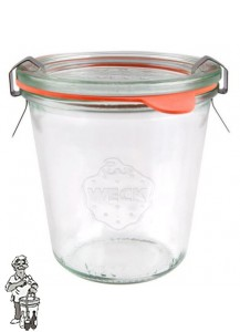 Weckglas stort 290 ml per stuk 900