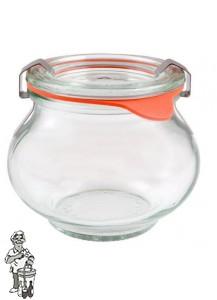 Weckglas sier 0,22 ltr. per stuk 902