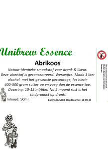 Unibrew essence Abrikoos 50 ml