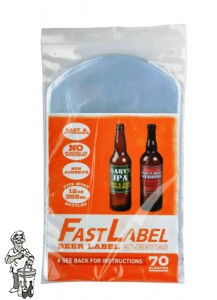 FastLabel beer label sleeves - 330 ml - 70 stuks