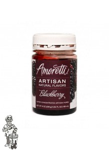 Amoretti - Artisan Natural Flavors - Braambes 226 g