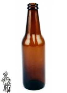 Bier fles BNR bruin 30 cl 24 Stuks. (statiegeld fles)