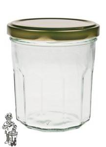 Jampot bon maman 324 ml incl twist off deksel 82mm.