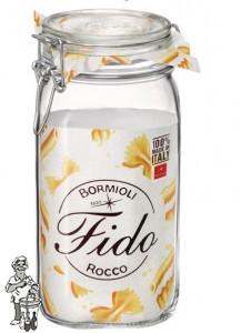 Bormioli Glazen voorraadpot 1500 ml met klemdeksel