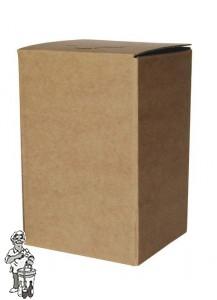 Bag in Box bruin Kompleet 3 Liter