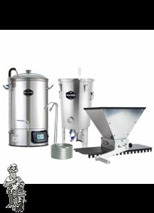 Brew Monk Combo Deal: Brew Monk 30 l & vergistingsvat 30 l & Grain Gorilla & wortkoeler