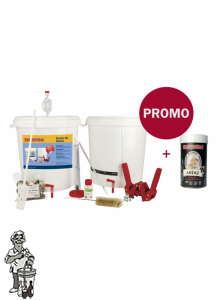 Brewferm Startpakket De LUXE  Incl. Bierpakket naar keuze