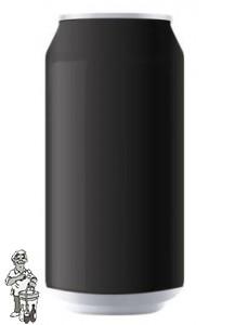 Bierblik aluminium necked NexGen/zwart  inhoud 330ml per 141 verpakt.