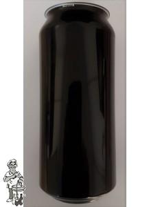 Bierblik aluminium necked NexGen/zwart  inhoud 440ml per 106 verpakt.