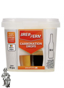 Brewferm Carbonation Drops 50 cl 40 stuks