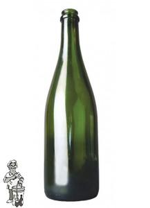 Ciderfles 0,75 ltr kroonkurkmondig 29 mm /100 stuks
