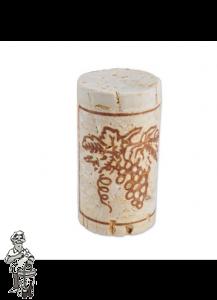 Wijnkurk nr.5 col /100 stuks 23x45 mm voorbehandeld