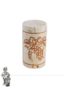 Wijnkurk nr.4 col /100 stuks 23x38 mm voorbehandeld