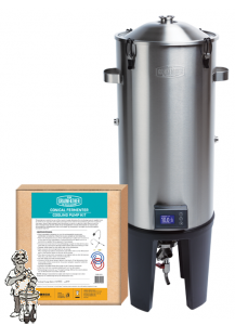 Grainfather Conical Fermenter plus  Dual Tap klep en temperatuurregelaar.