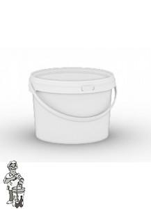 Gistingsemmer met deksel, waterslot en kraan van 8 liter