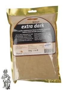 Muntons Moutextractpoeder Extra Dark 70-120 EBC 1kg (22 juni nog 10 kg op voorraad)