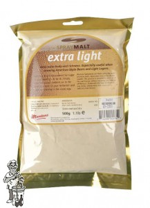 Muntons Moutextract poeder Extra Light  8 EBC 0,5 kg
