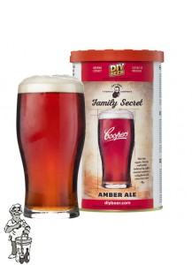 Thomas Coopers Family Secret Amber Ale voor 23 liter