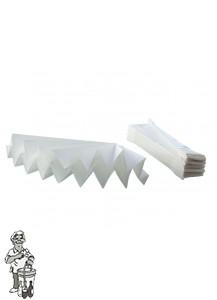 Filterpapier 45 cm doorsnede per 10 stuks