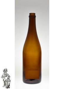 Bierfles Champenoise  Bruin 75 CL