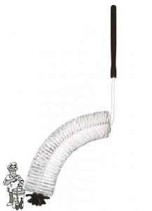 Gebogen mandflessenborstel  groter dan 15 liter