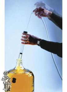 Fermtech Automatische hevel Groot met antidroesem + 2 mtr slang XL