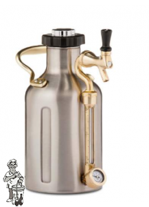 GrowlerWerks uKeg™ 128 rvs - 3.8 l
