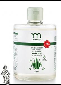 Hand sanitizer desinfect 500 ml met Aloe vera gel
