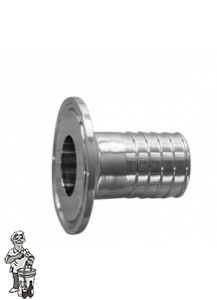 "Ss Hose Barb 1.5"" TC flange to 1"""