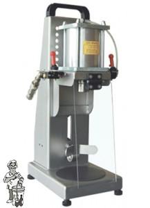 Kroonkurkapparaat pneumatisch tafelmodel RVS
