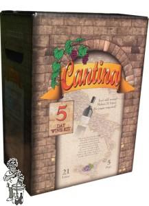 Cantina 5 dagen wijnpakket voor 21 liter Pieselberg