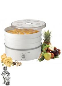 Stöckli droogapparaat met timer incl drie RVS (metalen) roosters.