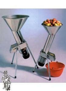 Appelvreter 800 kg / uur (elektrisch) RVS