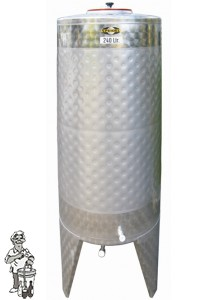 Speidel RVS Gistingstank 525 liter met koelmantel.