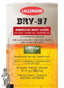 Lallemand Danstar BRY-97 11 gram alleen on-line product (2 voor €5,-  04-2020 zolang de voorraad strekt)
