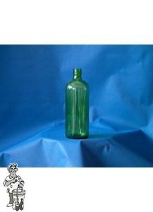 12 stuks groene jeneverflessen met draaidop