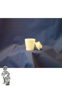 Kunststof vat zonder net 650 gram
