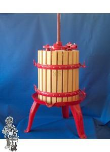 Fruitpers type 35: inhoud 50 liter Vaste vijzel dubbel racagnac systeem