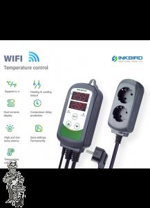 Temperatuurregelaar voor Klimaatkast InkBird ITC-308WIFI Controlled