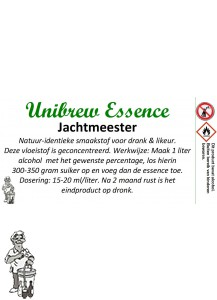 Unibrew essence Jacht Meester 500 ml.