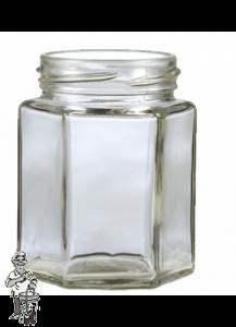 Jampot zeskant 280 ml