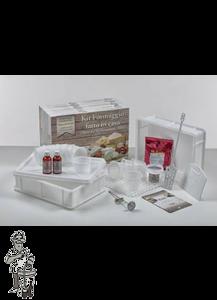 Kazen set met roestvrijstalen voel thermometer en vegetarisch stremsel