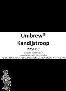 Kandij siroop bruin 225 EBC 1 Liter