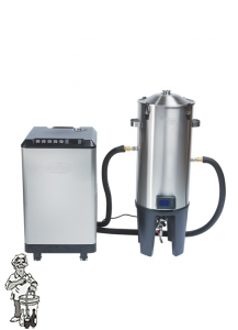 1x Grainfather Glycol Chiller ,1x  Grainfather Conical Fermenter Dual Tap klep en een temperatuurregelaar.
