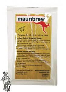 Mauribrew Lager 497  biergist 12.5 gram